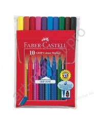 Фломастеры Faber-Castell Grip 10 цветов
