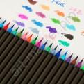 """Набор акварельных маркеров """"Worison"""" 48 цветов + кисточка (CLONE)"""