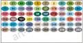 Цветовая палитра набора