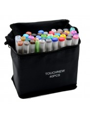 "Набор маркеров  для скетчинга ""TOUCHNEW"" 40 цветов. Ландшафтный дизайн"