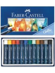 Пастели масляные Faber Castell 12 цветов