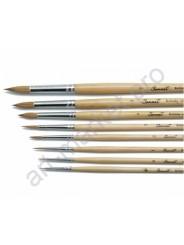 """Кисть щетина """"Сонет"""" круглая, длинная ручка, № 3, Ø5 мм"""