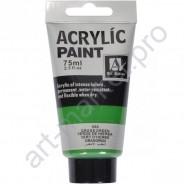 "Акриловая краска ""ACRYLIC"" 75 МЛ цвет «GRASS GREEN»"
