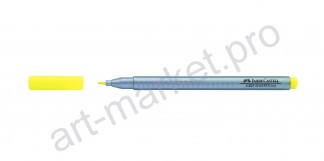 Линер Faber-Castell Grip Finepen 0,4 мм желтый
