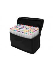 Профессиональные маркеры для скетчинга Touchfive 80 цветов. Набор для дизайнеров одежды