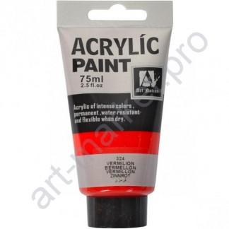 """Акриловая краска """"ACRYLIC"""" 75 МЛ цвет «VERMILION»"""