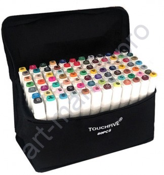 Маркеры для скетчинга  Touchfive  80 цветов. Анимация и дизайн