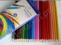 Карандаши цветные акварельные «Сонет», 24 цвета