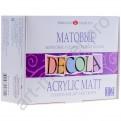 Набор акриловых красок 'Decola' матовые 12 цветов