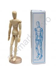 Манекен деревянный, мужская фигура 20 см WORISON