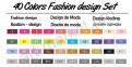 Спиртовые маркеры «Touchnew» 40 цветов. Набор для дизайнеров одежды