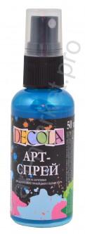 Краска-спрей акриловая «Decola» Арт-спрей Бирюза