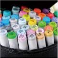 Спиртовые маркеры «FINECOLOUR» 60 оттенков