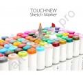 Спиртовые маркеры «Touchnew» 40 оттенков.