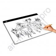 Световой планшет формат А3 (LED Light Pad) для рисования и копирования мощность 7 W