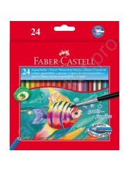 Набор акварельных карандашей Faber-Castell 24 цвета