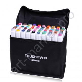 Эскиз-маркеры  Touchfive  Набор для дизайнеров одежды 40 цветов