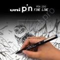 Лайнер-рапидограф  UNI PiN 0,3 мм