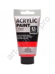 "Акриловая краска ""ACRYLIC"" 75 МЛ цвет «SCARLET»"