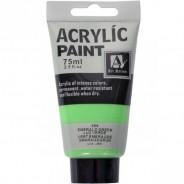 """Акриловая краска """"ACRYLIC"""" 75 МЛ цвет «EMERALD GREEN»"""