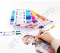 Набор двусторонних маркеров FineLiner / Brush Markers Pens 100 цветов