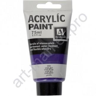 """Акриловая краска """"ACRYLIC"""" 75 МЛ цвет «VIOLET»"""