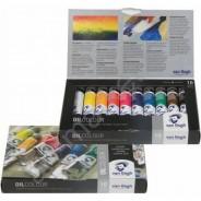 Набор масляных красок, VAN GOGH, 10 цветов