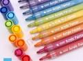 Набор акриловых маркеров STA  для рисования на разных поверхностях  12 цветов