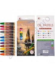 "Восковые карандаши ""OIL PASTELS"" 12 цветов"