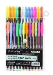 Набор гелевых ручек Neon Color 24 цвета