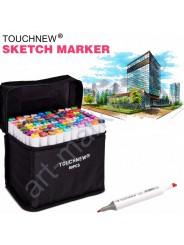 Набор маркеров «TOUCHNEW» 60 цветов для интерьерного скетчинга