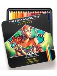 Набор цветных карандашей Prismacolor Premier 72 цвета в металлическом пенале