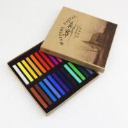 Пастель художественная профессиональная сухая, 24 цвета, Maries MASTER