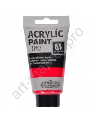 "Акриловая краска ""ACRYLIC"" 75 МЛ цвет «PERMANENT RED»"