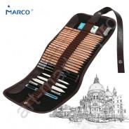 Подарочный набор карандашей MARCO с чехлом