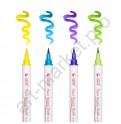 Акварельные маркеры STA Aqua natural brush 24 цвета