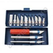 Набор ножей для моделирования ( дизайнерских работ) из 13 штук
