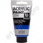 """Акриловая краска """"ACRYLIC"""" 75 МЛ цвет «PHTHALO BLUE»"""