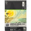 """Acrylic Color Pad"" 16 листов Источник: http://kanctovary-odesa.com.ua/p/240371551-albom-dlya-akvareli-acrylic-color-pad-16-listov-190g-m/"