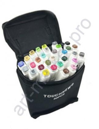 Эскиз-маркеры  Touchfive  Набор для анимации и дизайна 30 цветов