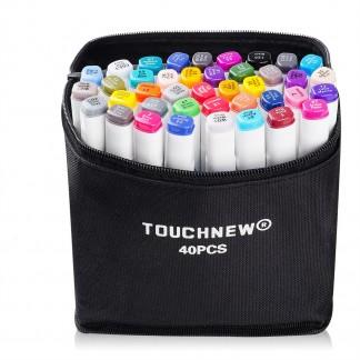 Спиртовые маркеры Touchnew 40 цветов. Набор для архитектора