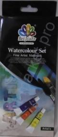 """Акварельные краски в тубах """"BeiJiaEr"""" 12 цветов по 12мл."""