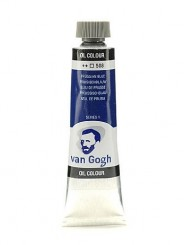 Краска масло Van Gogh цвет 508 Прусская лазурь