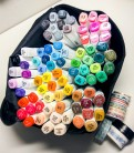 Спиртовые маркеры «Touchnew» 80 цветов