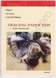 Папка-калька А3, 90г/м2, 40 листов, клееная
