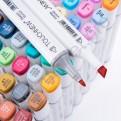 Набор скетч маркеров «TOUCHNEW» для дизайна интерьера 80 шт.
