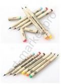 Набор ручек-кисточек  Superior (BrushPen)  12 цветов