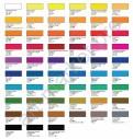 Цветовая палитра акварельных красок Белые Ночи