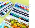 Профессиональный набор акриловых красок Winsor & Newton (12 туб по 10 мл.)