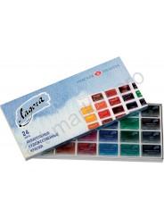 Акварельные краски Ладога 24 цвета